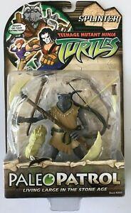Teenage Mutant Ninja Turtles Paleopatrol Splinter Action Figure NEW SEALED 2006