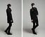 thumbnail 13 - Wool Blend Stand Collar Coat Slim Fit Jacket Men's Mid Length Parkas Asymmetric