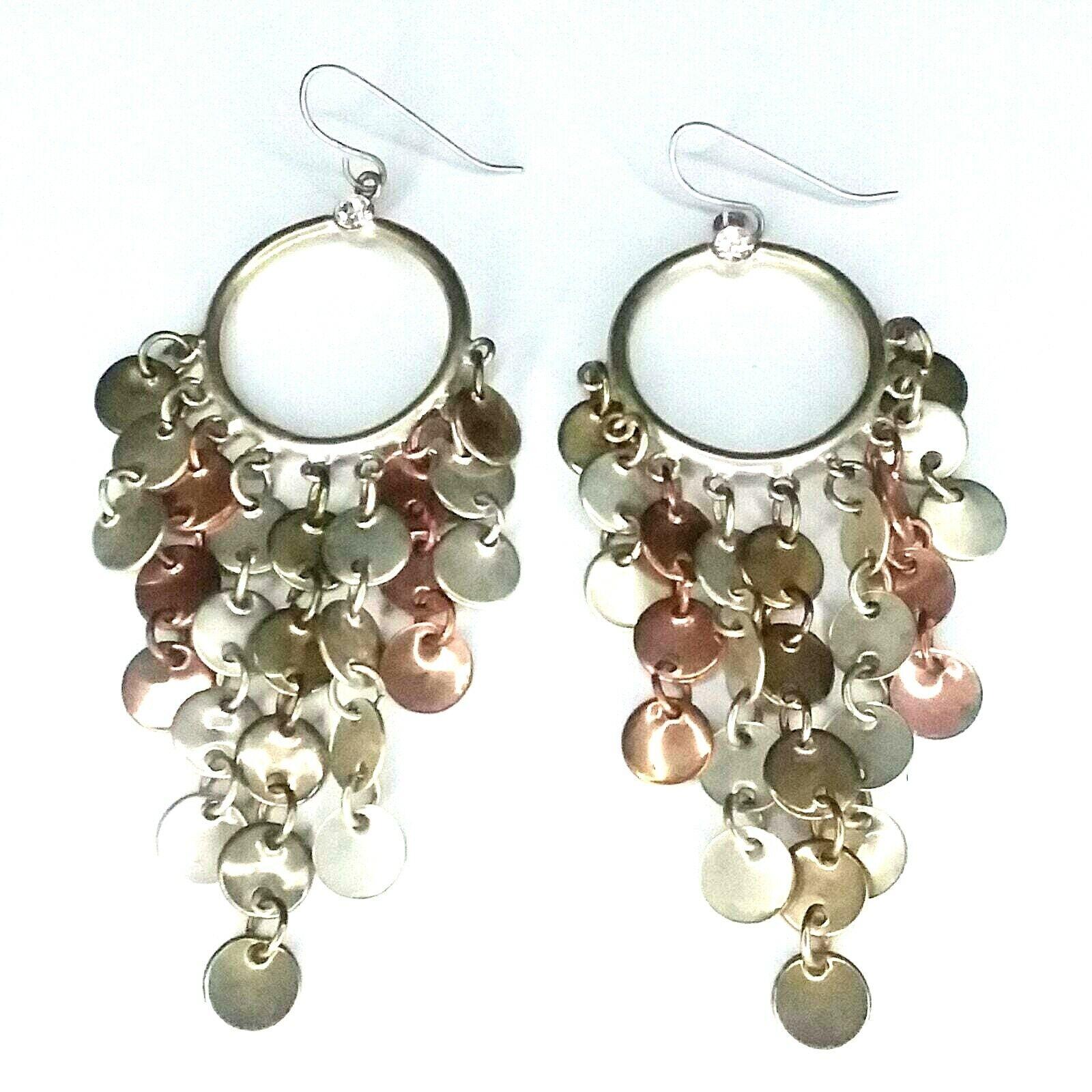 Geometric Statement Earrings Sterling Silver Dangle Earrings Silver Earrings Organic Shapes Earrings Long Earrings Amethyst Earrings