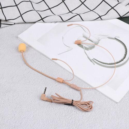 Professional UHF dual nude headset wireless headworn microphone skin color G WCY