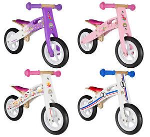 Dettagli Su Bikestar Bici Bicicletta Senza Pedali Bambini Da 2 Anni 10 Pollici Legna