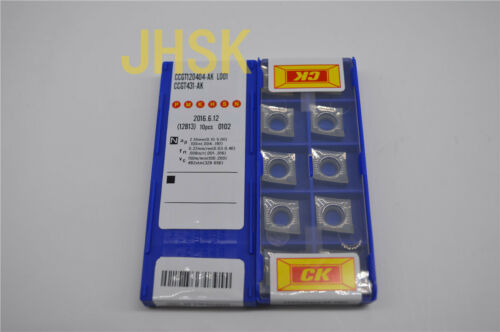 CCGT431-AK  Used for Aluminum  (superior quality) CCGT120404-AK CK 10pcs