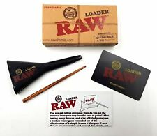 Raw Rolling Papers King Size / 98 Special Cone Loader Poking Tool & 20 Cones
