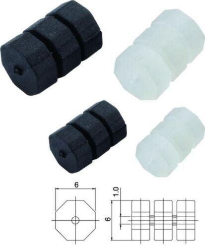 /& Bremszüge schwarz transp. Jagwire Rahmenschutz O-Ring  passend für Schalt