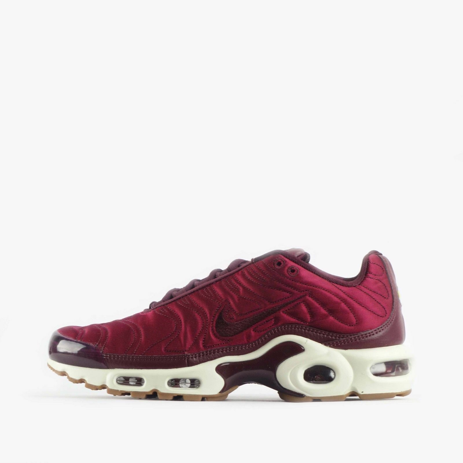 Nike damen  AIR MAX PLUS Trainers Night Maroon UK 6 EU 40 LN088 OO 11