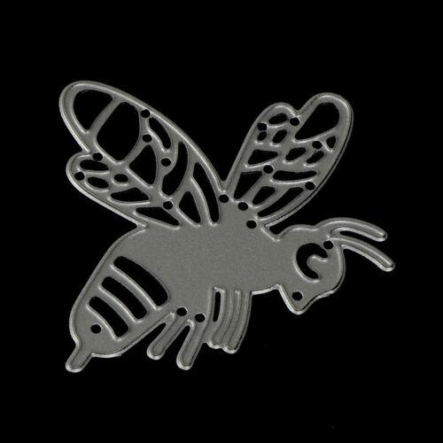 Bee Metal Cutting dies Stencil scrapbuchungs Karte Papier Prägung Handwerk ZP
