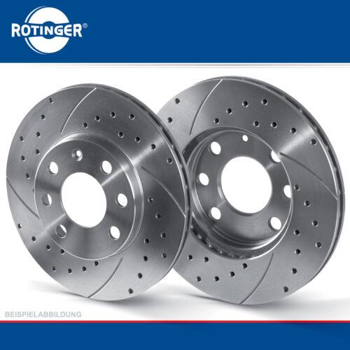 Rotinger Sport Bremsscheiben Satz vorne innenbelüftet Ford Fiesta V