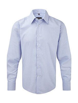 39/40 Neu Produkte Werden Ohne EinschräNkungen Verkauft Herrenmode Russell Collection R-922m Herren Hemd Hellblau Gr