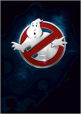 Ghost Busters Movie Logo Large Poster Art Print A0 A1 A2 A3 A4 Maxi
