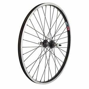 Wheel Master 24 Alloy Mountain Bike Wheels//24In//Rr//19//B//O 3//8//Blk Msw//W