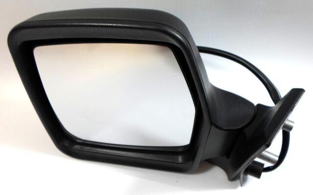 Fiat Scudo Mk1 Van 1995-2006 Manual Wing Door Mirror Black Drivers Side O//S