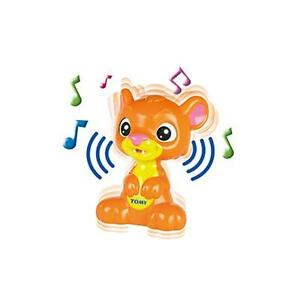 Tomy-T72031-Peek-A-Boo-Lion-Cub-Baby-Electronic-Toy-Game-Music-Sounds-Orange-New