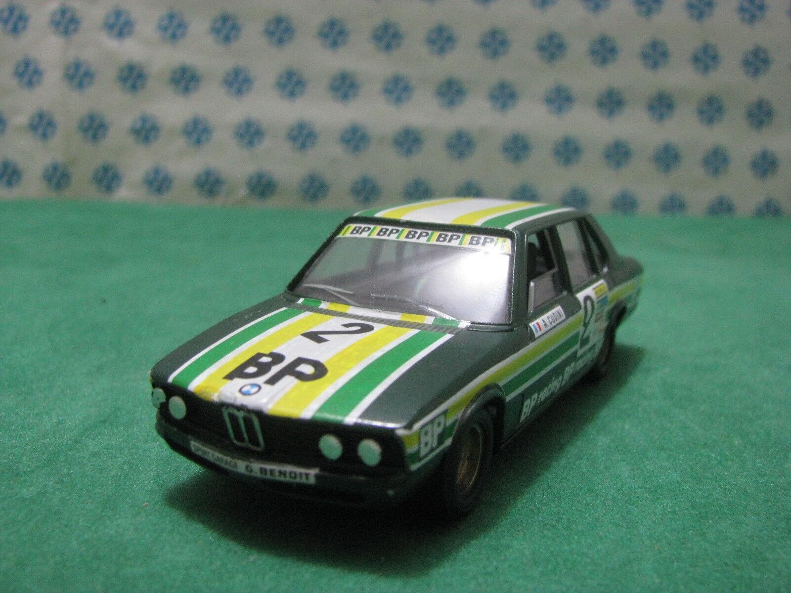 Vintage - BMW 530 berlina 3000cc. ROUEN 1978 - 1 43 Transkit Solido