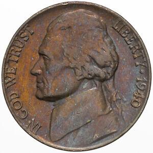 1940-P Jefferson Nickel Choice//Gem BU Uncirculated