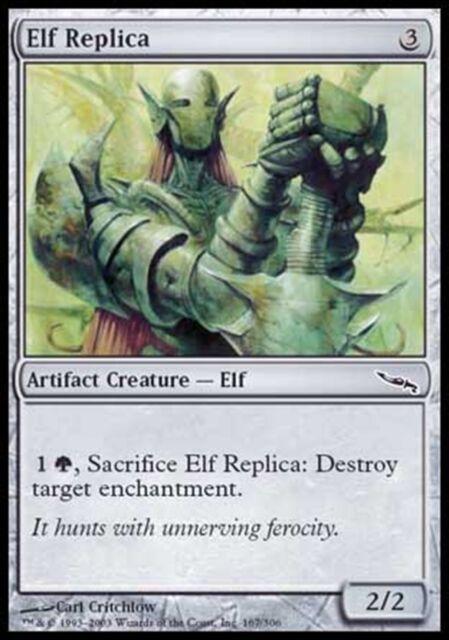 MTG Magic - (C) Mirrodin - Elf Replica - SP