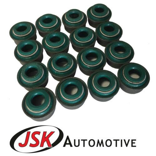 Tige De Soupape Joint Set 16pc JCB 444 dieselmax Ecomax 2CX 3CX 4CX JS115 JS130 JS145