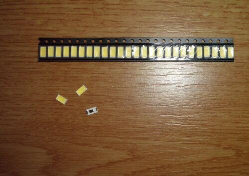 100 Stück LED SMD 5730 WEIß 40mA