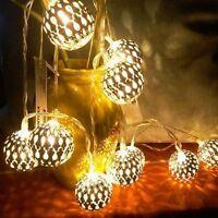Warm White Fairy String Light Lamp Christmas Wedding Xmas Party Outdoor Decor