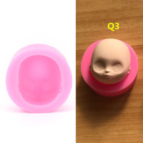 1pc Silicone Baby Face Mold Head for Fondant Chocolate Soap Handmade Soap