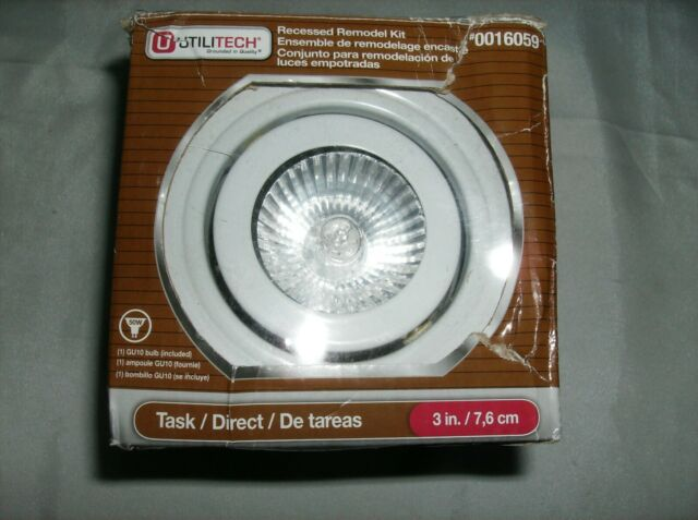 Utilitech 3 Recessed Open Light Kit