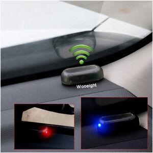 Image Is Loading Solar Car Dummy Alarm Anti Theft Flashing Led