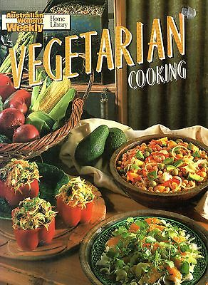 Vegetarian Cooking by Australian Women's Weekly VGUC FREE POST! (Paperback 1990)