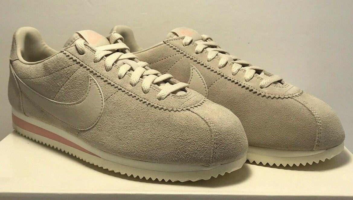 Nike Womens Size 9 9 9 Classic Cortez Suede LE Desert Sand Athletic AA3839-003 4c3e05
