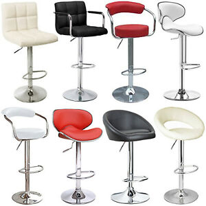 Tremendous Details About 2X Bar Stools Faux Leather Modern Cuban Venus Breakfast Kitchen Barstool Swivel Beatyapartments Chair Design Images Beatyapartmentscom