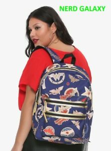34ce50ba0c8e Details about Wonder Woman DC Comics Backpack w/ Laptop Sleeve, NEW!  LICENSED!