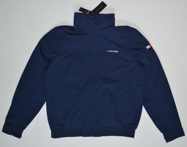 Tommy Hilfiger Men s Jacket Size Medium M Color NavyBlue 2 Front ... 52d5a8bb42