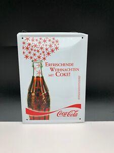 Coca-Cola-Shield-Advertisement-Metal-8-5-16in-Top-Condition