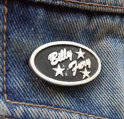 Billy Fury Pewter Pin Badge