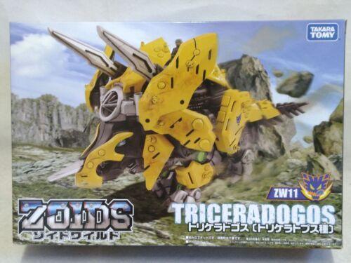 Takara Tomy ZOIDS WILD ZW11 Triceradogos Motorized Action Figure from Japan F//S