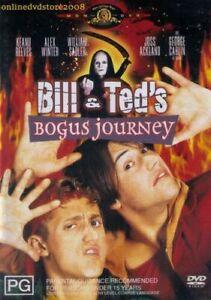 Bill-amp-Ted-039-s-BOGUS-JOURNEY-Keanu-REEVES-Alex-WINTER-William-SADLER-DVD-FastNfree