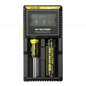 Nitecore-D2-Digicharger-LCD-1865018350-16340-14500-IMR-universal-smart-Charger