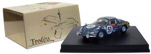 Trophée 805 Alpine Renault A110 n ° 51 Le Mans 1968 - Collomb / lacarreau à l'échelle 1/43