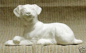 Ceramic-Bisque-Rottweiler-Dog-Nowell-Mold-2243-U-Paint-Ready-To-Paint