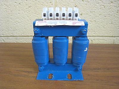MTE RL-00401B8 3PH 4A 50//60Hz 600V Three Phase Line Reactor Used Free Shipping