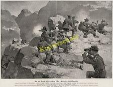 Schutztruppe DSWA Hptm. v. Perbandt Gefecht bei Gurus Kurt Schwade Naukluft 1894