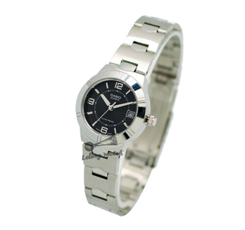1 of 1 - -Casio LTP1241D-1A Ladies' Metal Fashion Watch Brand New & 100% Authentic