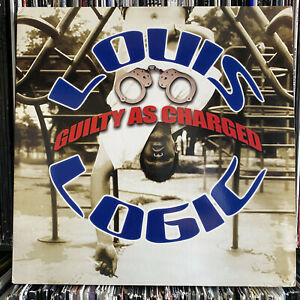 """LOUIS LOGIC - GUILTY AS CHARGED / AND REASON (12"""")  2001!!  RARE!!  J.J. BROWN!!"""