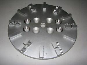 Schleifteller ø 250 mm PKD-Split für Asphalt Epoxid-Beschichtung Bodenschleifer