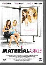 DVD ZONE 2--MATERIAL GIRLS--DUFF/HUSTON/COOLIDGE