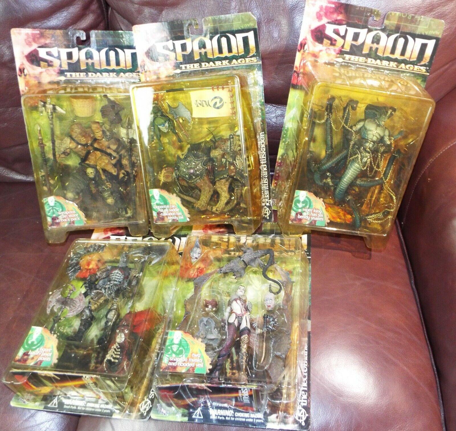 Lot of 5 McFarlane giocattoli Spawn cifras Series 14