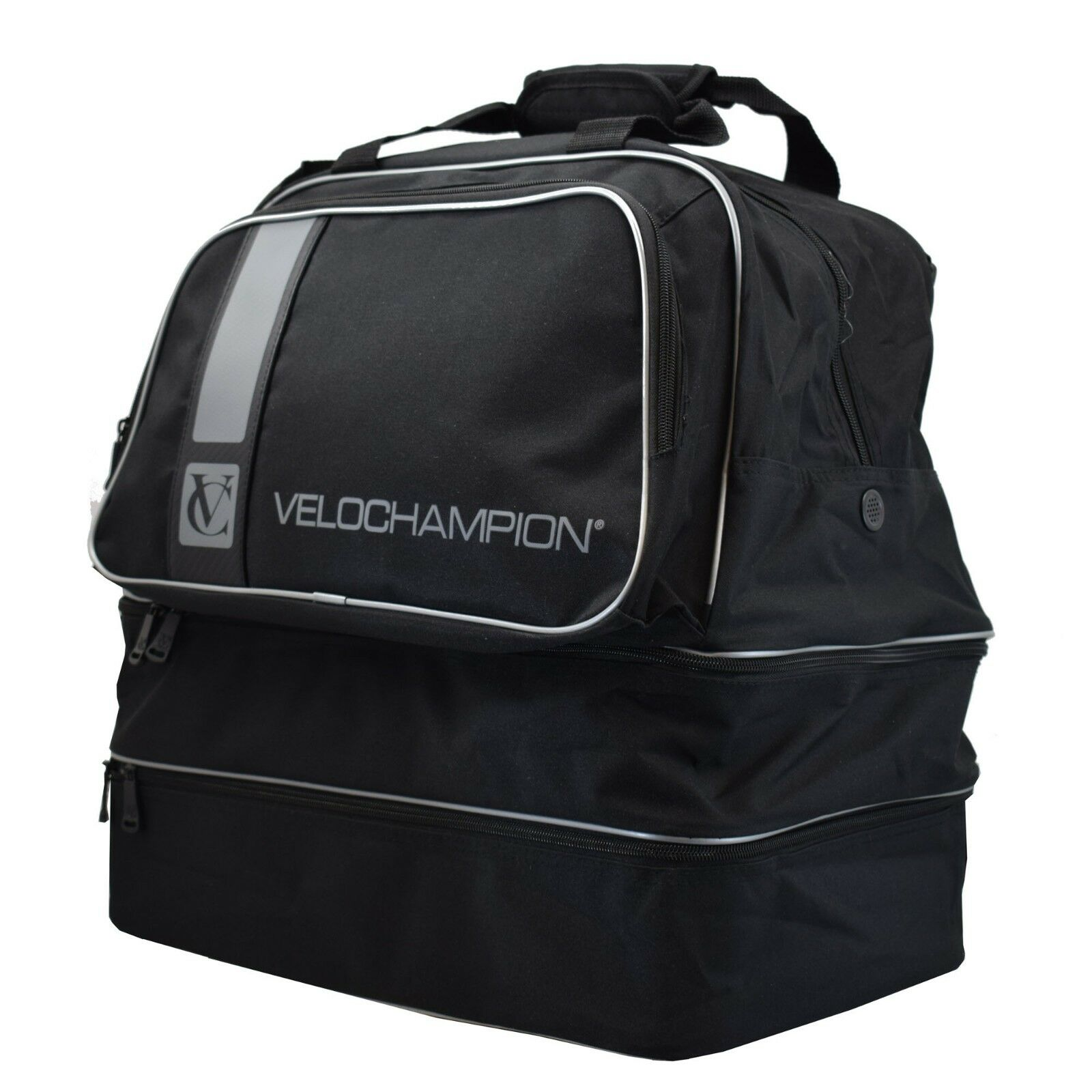 VeloChampion Sports Gym Travel Bag - Cycling Kit Storage Sports Hiking Holdall