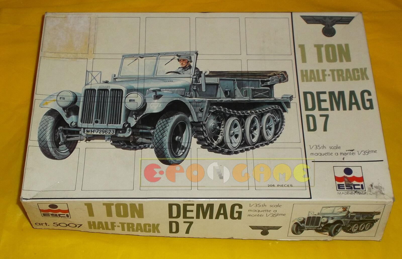 DEMAG D7 1 Ton Montaggio Half-Track 1/35 - Kit di Montaggio Ton (Model Kit) - COME NUOVO daa215