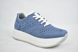 Scarpe-IGI-amp-CO-Sneakers-nabuk-azzurro-avio-traforate-con-suola-a-zeppa-5165700