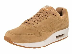 pretty nice 96648 66482 Image is loading Nike-Air-Max-1-Premium-Flax-Flax-Sail-