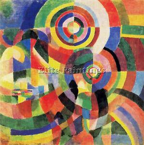 Robert Delaunay Dela1 Artiste Tableau Reproduction Huile Sur Toile Peinture Deco Ebay