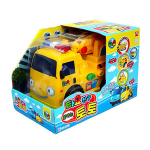 The Little Bus Tayo Talking [ TOTO ] Tow Truck Big Size Toy Bus